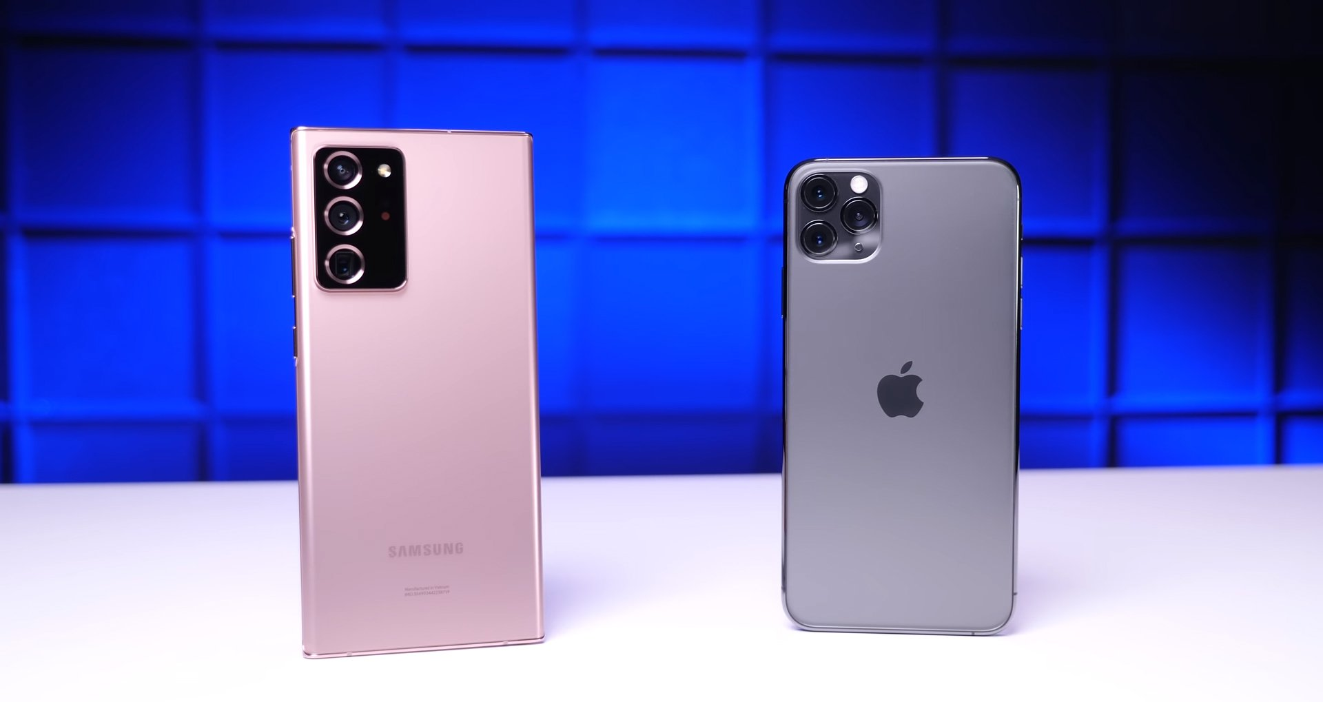 iPhone 11 Pro Max ve Galaxy Note 20 Ultra Düşürme Testi