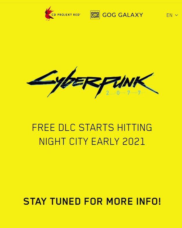 Cyberpunk 2077 DLC Sayfası Açıldı