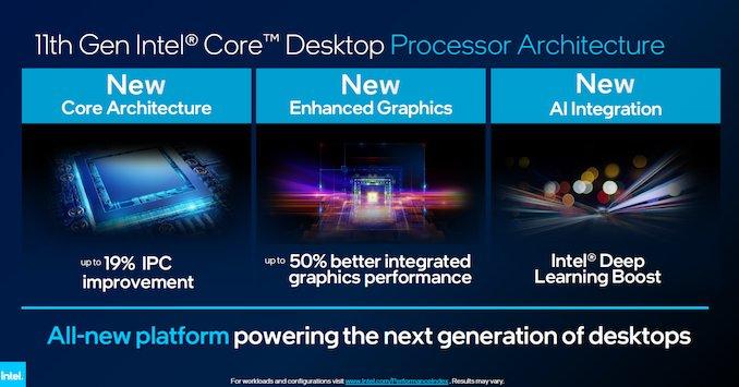 Intel Rocket Lake İşlemcileri Duyurdu