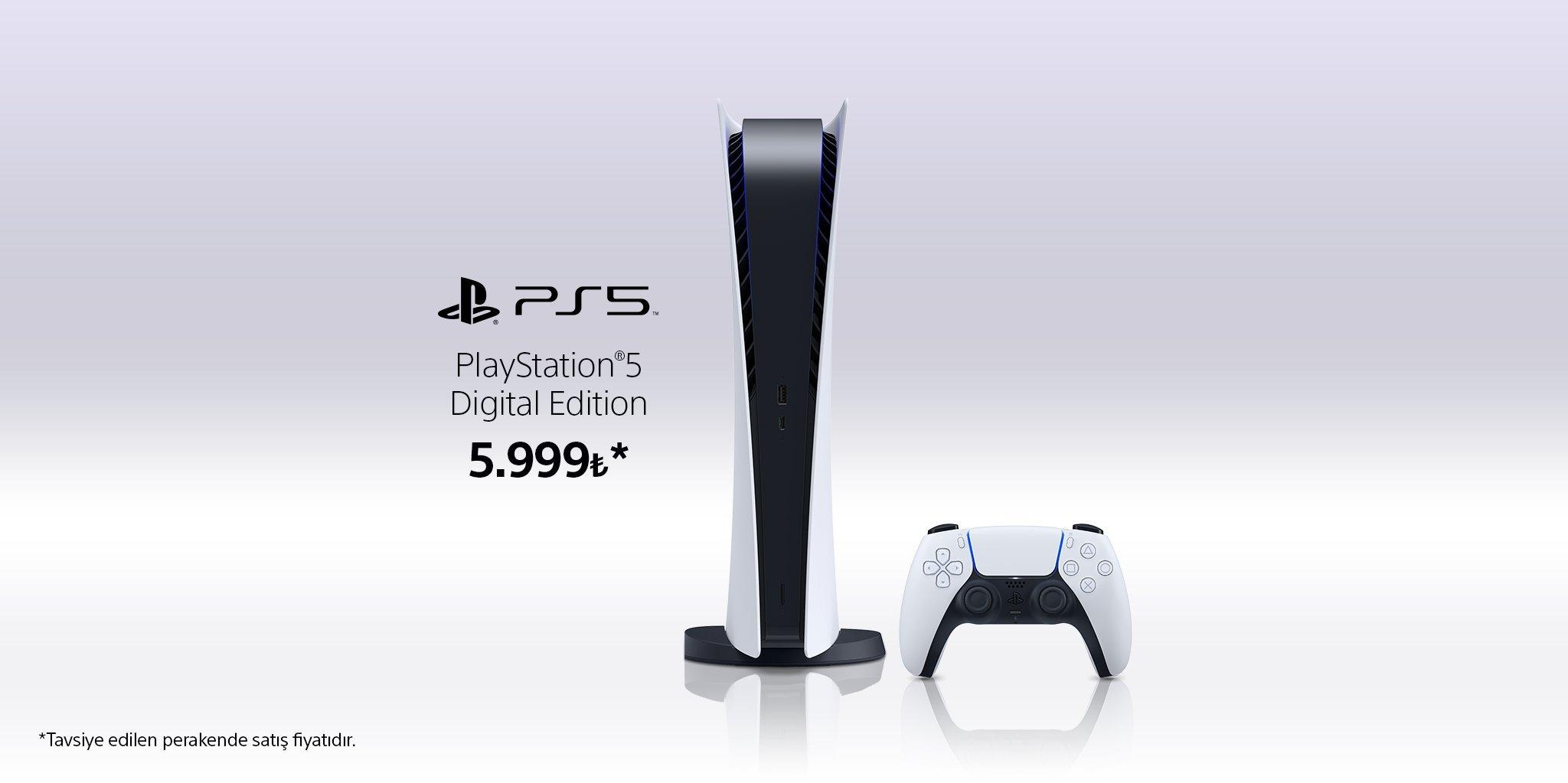 PlayStation 5 Dijital Sürüm Türkiye Fiyatı Açıklandı